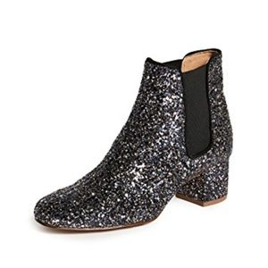 Madewell | Macey sparkle block heel boots sold out